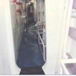 Passageway damage