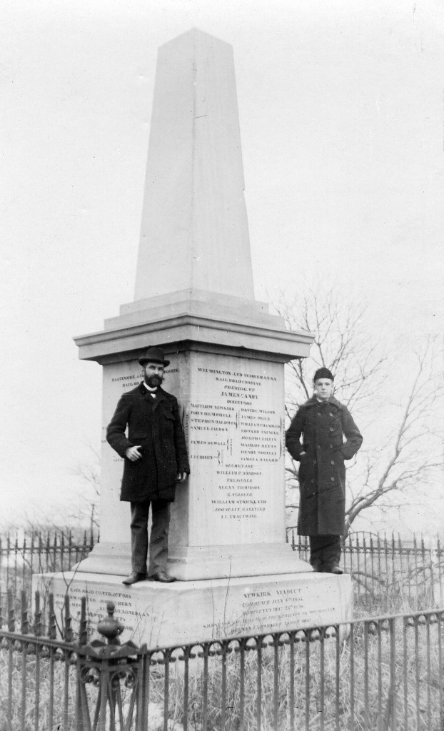 Newkirk Monument, perhaps around 1850